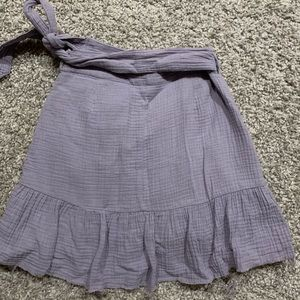 Glassons wrap skirt, size 6